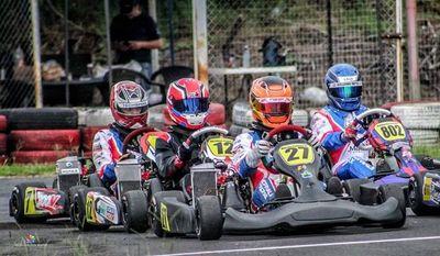 Luque recibe la gran fiesta del Nacional de karting