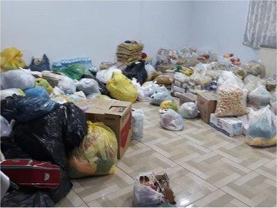 En Canindeyú y Caaguazú realizan colectas para damnificados en Pilar