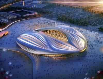 Inauguran el estadio Al Wakrah, donde se jugará la final del Mundial de Qatar 2022