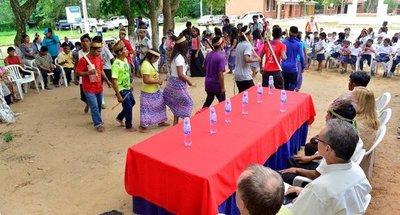 Indígenas que renunciaron al campo son reasentados en 8,5 Ha. en Luque