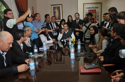 Prieto presentó su gabinete: algunas dependencias siguen sin directores