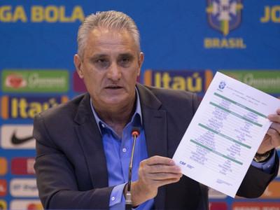 Tite seleccionó los 23 futbolistas para la Copa América