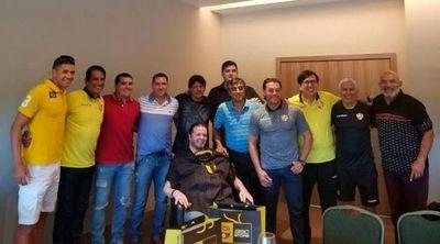 El gran gesto de la familia de Tacuary con Gerardo Traverso