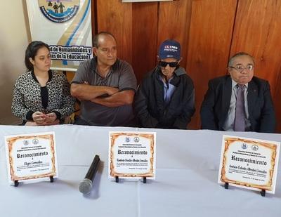 Universidad brinda homenaje a tres personalidades de Concepción