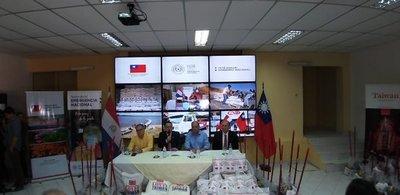 Taiwán dona arroz y kits de limpieza para damnificados