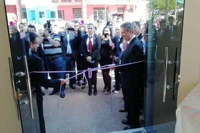 Inauguran nuevo local de Registro Electoral, pero con evidentes deterioros