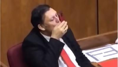 Bogado se retira oficialmente de la Cámara de Senadores