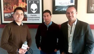 HOY / Piden firmas para constituir  El Partido Extraterrestre y   desatan burlas en las redes