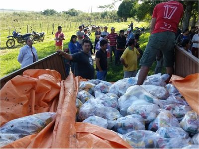 Más familias afectadas por lluvias reciben asistencia en Misiones