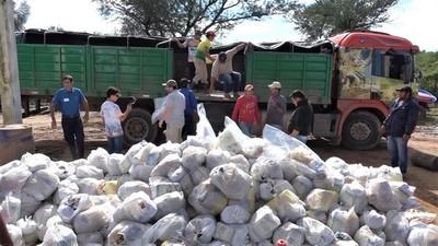 Entrega de víveres llegó al 100% de las comunidades indígenas de Irala Fernández