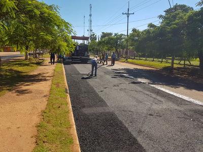 MOPC prosigue con recapado de calles