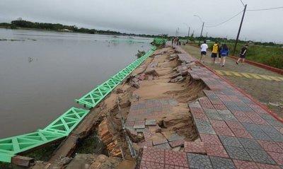 El río se estabilizó en Pilar