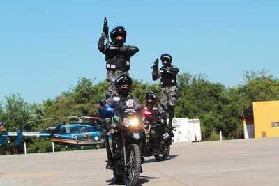 Nuevos efectivos del Grupo Lince ya refuerzan la seguridad de Asunción y Central