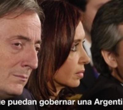 Cristina Kirchner anuncia que se candidata a Vicepresidente