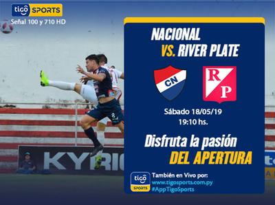 Nacional y River cierran su participación en el Apertura