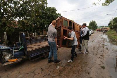 """Declaran situación de """"desastre"""" en Pilar"""