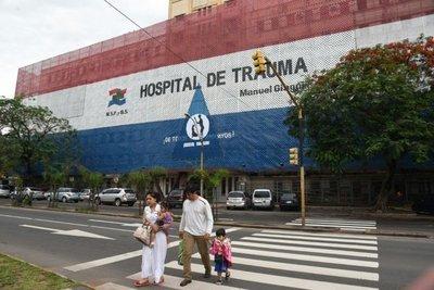 Interno de Tacumbú fallece en Hospital de Trauma