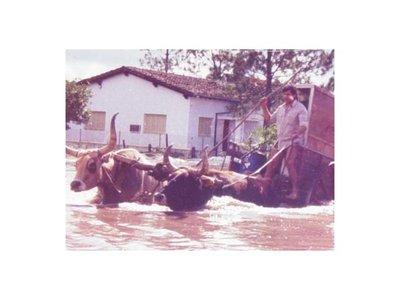 A 36 años de fatídica inundación, en  Pilar temen que se repita la historia