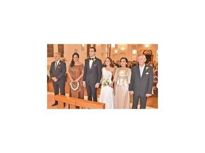 Silke Buhk y Axel Huber se casaron