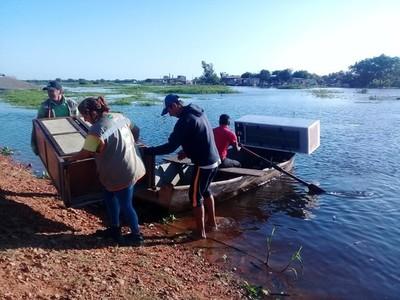 Suman 12.500 familias desplazadas por la crecida del río Paraguay en Asunción