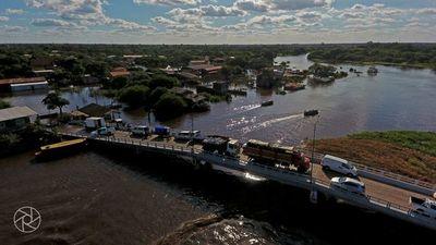 Cierran Paso Internacional Puerto Pilcomayo de forma temporal