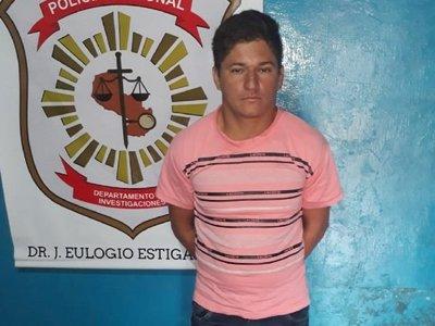 Detienen a sospechoso de un homicidio en J. Eulogio Estigarribia