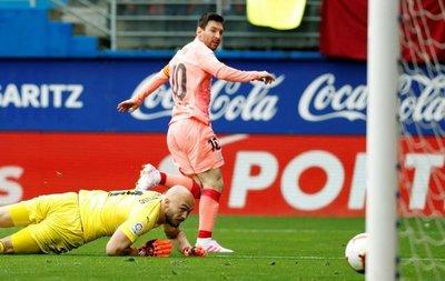 La marca goleadora que igualó Messi