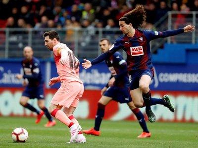 El Eibar choca con Messi
