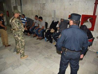 Juez dispone prisión preventiva para detenidos en operativo Espada