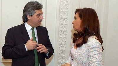 """Alberto Fernández, un """"delantero centro"""" para Cristina, según él mismo"""