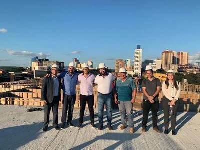 Intendente respalda la construcción de un supermercado en valioso terreno municipal