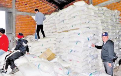 Fiscalía ordena a Aduanas que se libere unos 32.000 kilos de azúcar