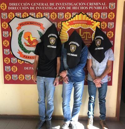 Caen tres brasileños vinculados al plan de rescate de integrantes del PCC de la cárcel de Encarnación