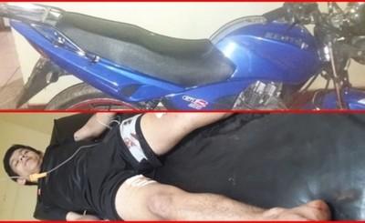 Persecución y tiroteo acaba con motochorros detenidos