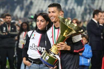 Georgina Rodríguez, la otra protagonista del triunfo de Cristiano con Juventus