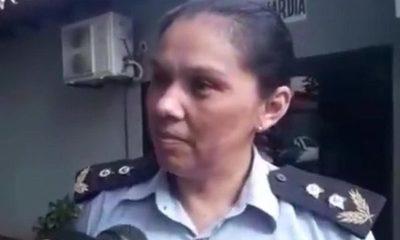 Cambian a jefa de sub comisaría en Franco