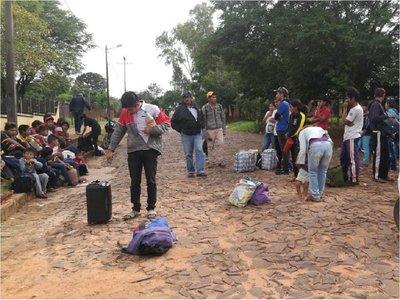 Indígenas de Yasy Cañy exigen obra de tendido eléctrico a la ANDE