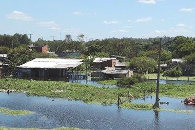Río Paraguay va a seguir subiendo he'i