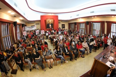 Mujeres coloradas pidieron a Alliana y al Tribunal, fecha de elecciones