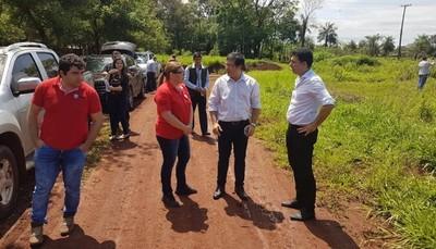 Apertura de sobres para la construcción de la penitenciaría en Minga Guazú