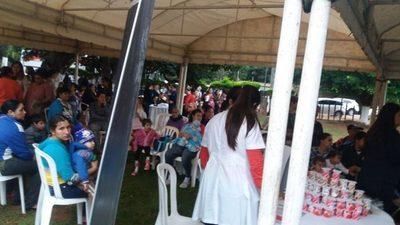 Barrio Villa 24 de Junio: Mucha gente acude a jornada de servicios