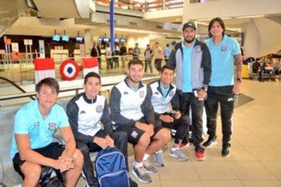 El Deportivo Santaní partió rumbo a Bogotá