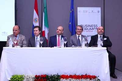 Empresas italianas exploran posibilidades de negocios e inversiones en el Paraguay