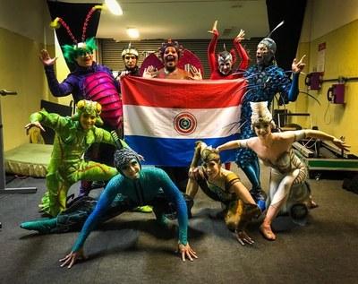 Suben las expectativas para la Premier de Cirque du Soleil OVO en Paraguay