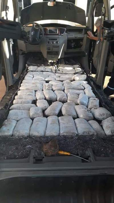 Pareja de franqueños cae con 40 kilos de marihuana en la Argentina