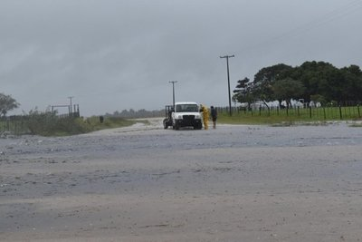Comunidades de Ñeembucú continuarán aisladas por lluvias