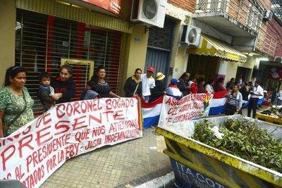 Bogadenses exigen la destitución de Nicanor