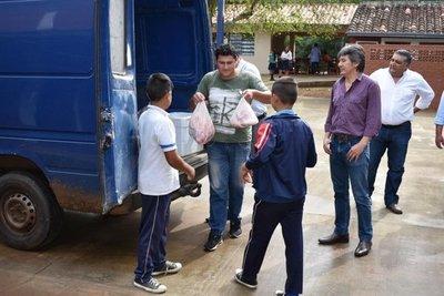 Escuela de la isla Yasyretá accede al almuerzo escolar