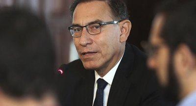 El presidente de Perú critica al Congreso por archivar proyecto sobre inmunidad parlamentaria