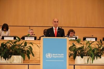 En Asamblea Mundial Paraguay insiste en reforma tributaria para financiar Enfermedades No Transmisibles